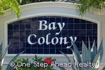 sign for Bay Colony of Andros Isle