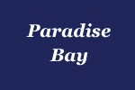 sign for Paradise Bay of Andros Isle