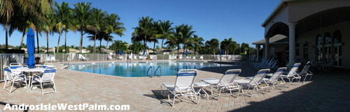 Another view of the Andros Isle pool area.