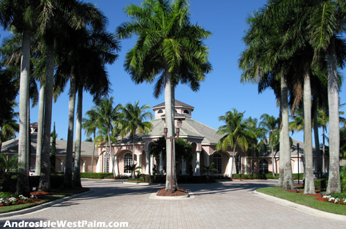 This well-appointed clubhouse facility plays a key role in the lifestyle provided by West Palm Beach's Andros Isle community.
